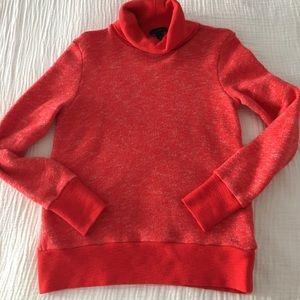 Jcrew funnel neck sweatshirt in xs